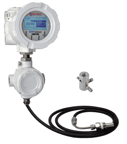 OXYvisor with Sensor and Flowcell